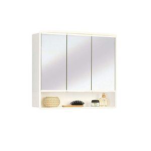 Armario de baño con espejo y luz elegante
