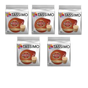 Cápsulas Tassimo recargables de café cortado