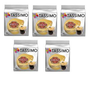 Cápsulas Tassimo recargables de café largo