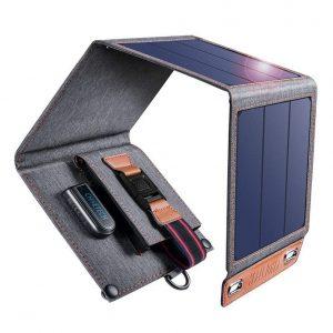 Cargador solar para móviles impermeable