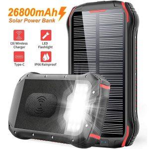 Cargador solar para móviles Powerbank
