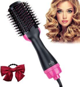 Cepillo eléctrico de pelo con tecnología iónica
