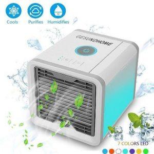 Climatizador evaporativo portátil 3 en 1