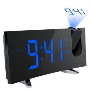 Despertador con proyector con doble alarma Pictek