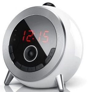 Despertador con proyector redondo Brandson