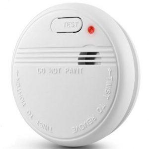Detector de monóxido de carbono con alarma de incendios
