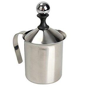 Espumador de leche de acero inoxidable Pixnor