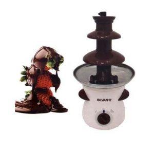 Fuente de chocolate 3 escalones eléctrica