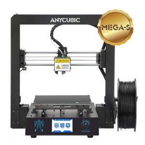 Impresora 3D con pantalla táctil