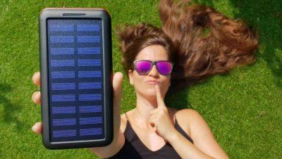 Cargadores solares para móviles