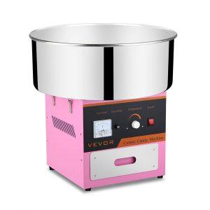 Máquina de algodón de azúcar de acero inoxidable