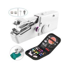 Máquina de coser manual de viaje