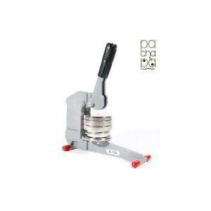 Máquina para hacer chapas personalizadas