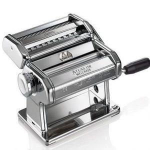 Máquina para hacer pasta plateada Marcato