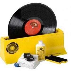Máquina para limpiar discos de vinilo Spin