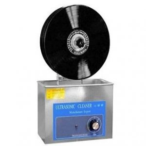 Máquina para limpiar discos de vinilo ultrasónico