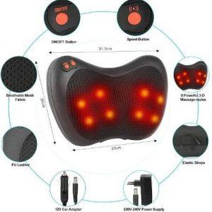 Masajeador eléctrico de espalda
