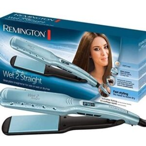 Plancha de pelo de vapor Remington
