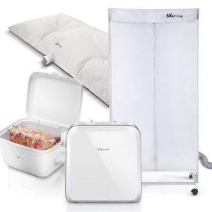 Secadora portátil desinfectante