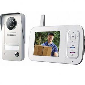 Videoportero inalámbrico con monitor portátil