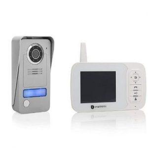 Videoportero inalámbrico sin cables y con monitor portátil